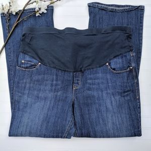 Old Navy Full Panel Flared Maternity Jeans